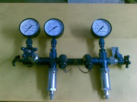 AIR OXYGEN NITROGEN CHARGING REGULATOR